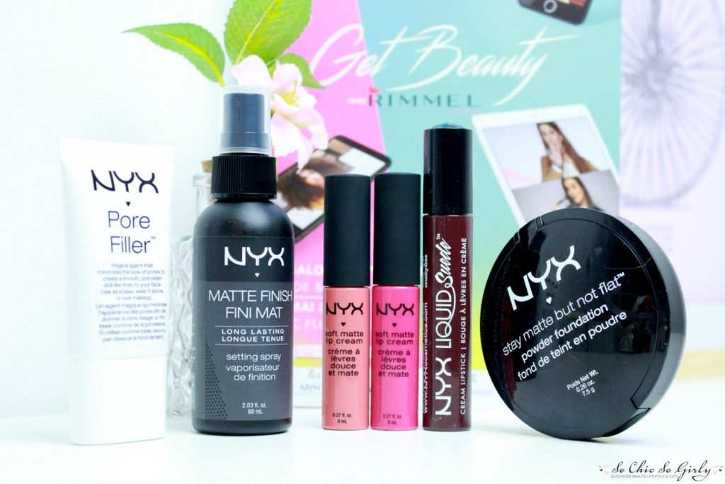Haul Nyx Get Beauty