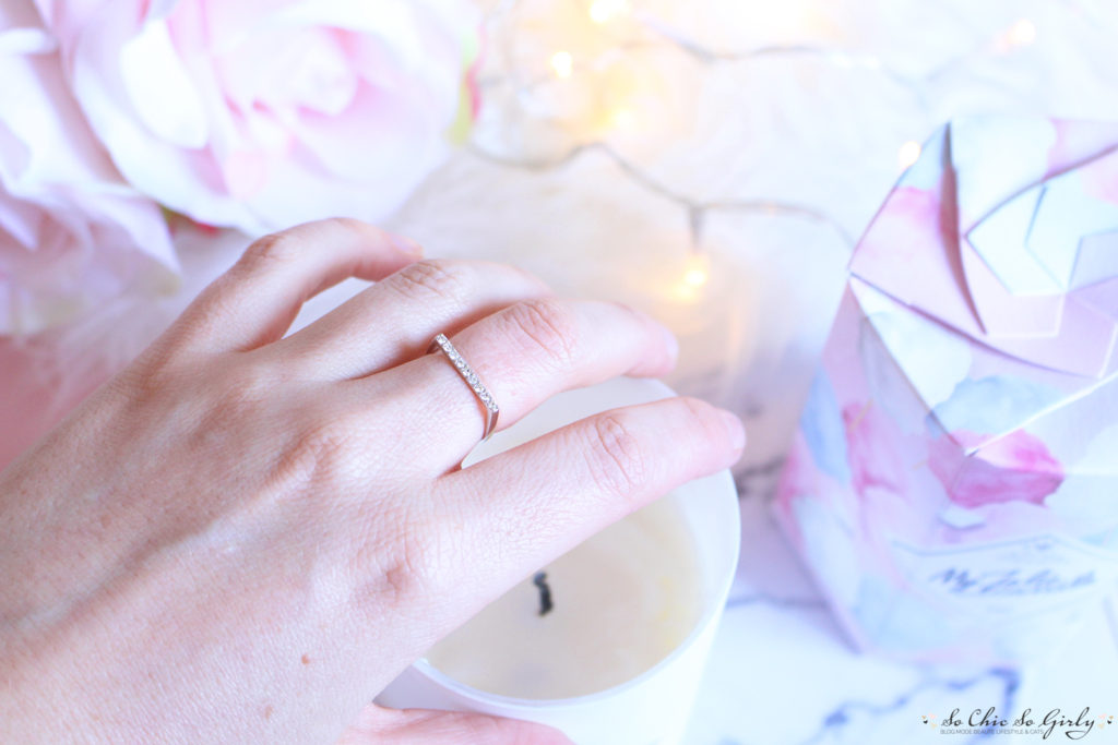 My jolie Candle : la bague surprise