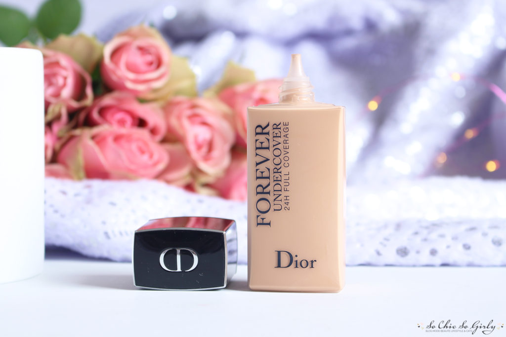fond de teint Dior Skin forever undercover 1