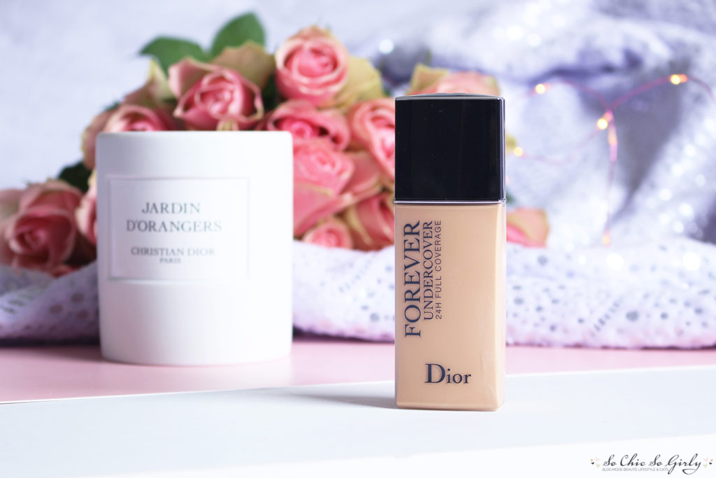 fond de teint Dior Skin forever undercover