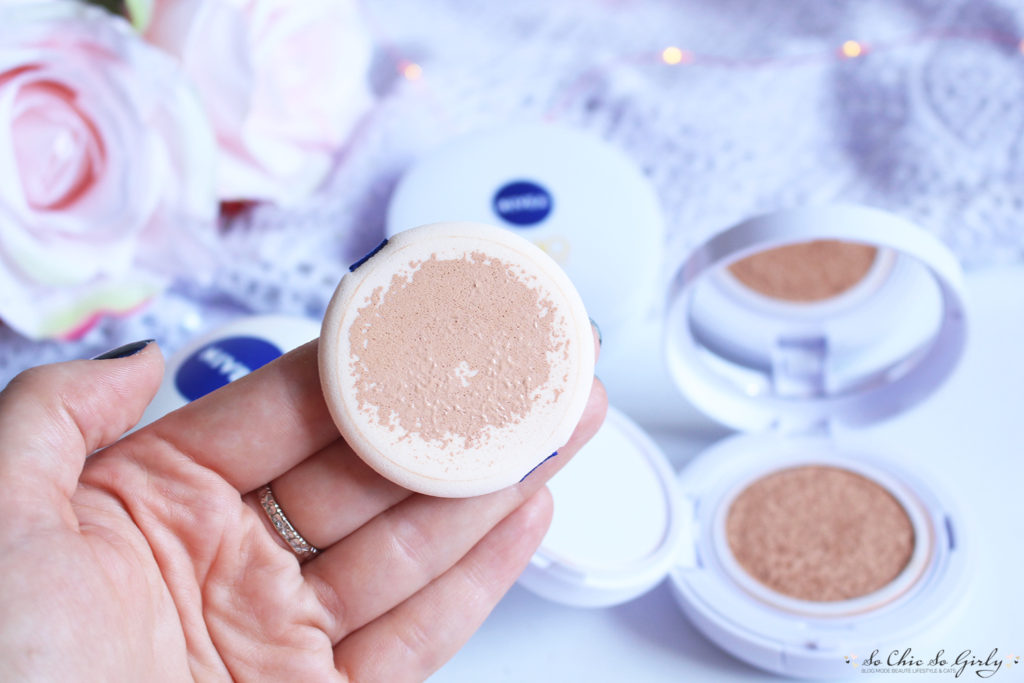 Cushion Soin 3 en 1 de Nivea teinte light